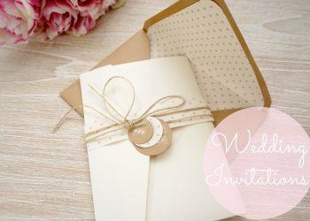 các ghi thiệp cưới