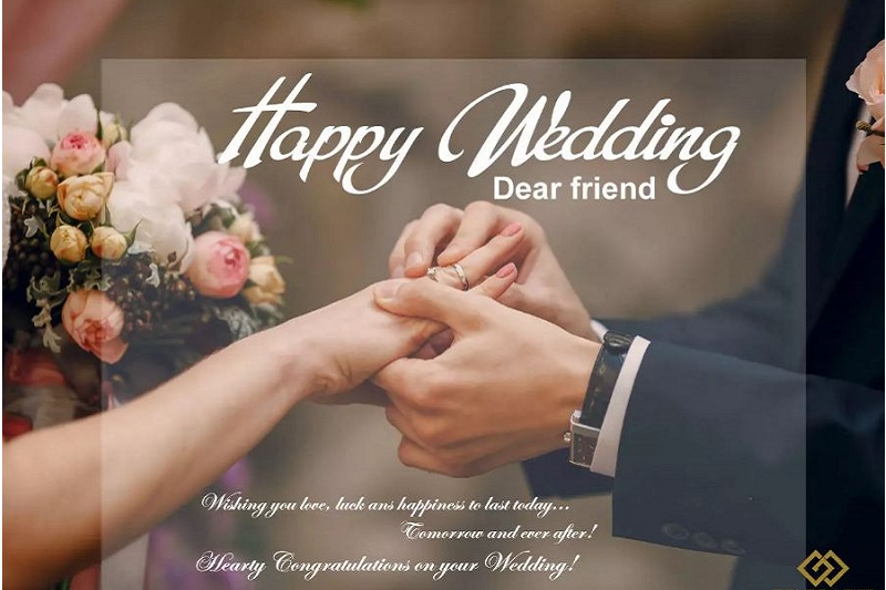 Lời chúc đám cưới dành cho bạn bè