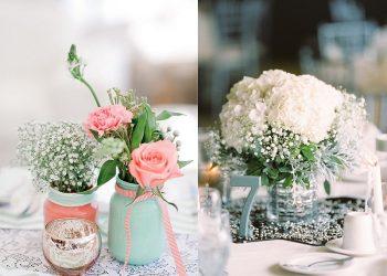 Cách cắm hoa để bàn ngày cưới đẹp và đơn giản