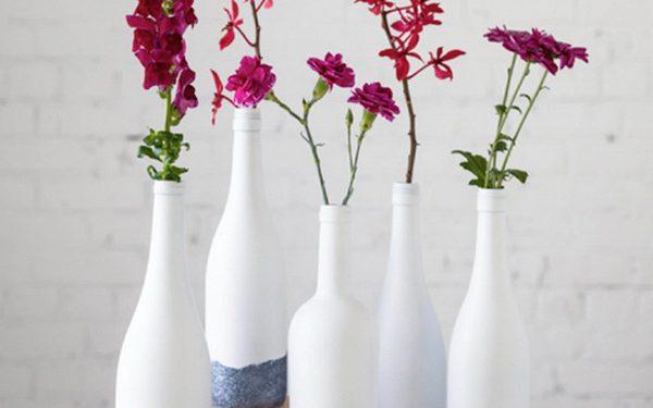 Chọn lọ hoa bằng chai nhựa cũ