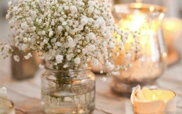 Chọn lọ hoa bằng thuỷ tinh trong suốt