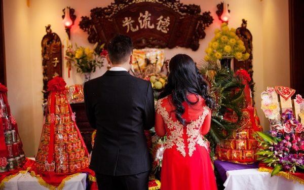 Lễ cưới hỏi miền trung đơn giản và chặt chẽ