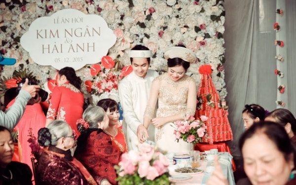 Nghi thức lễ cưới miền trung